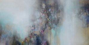 "Within, Acrylic on Canvas 48""x 24""$3400"